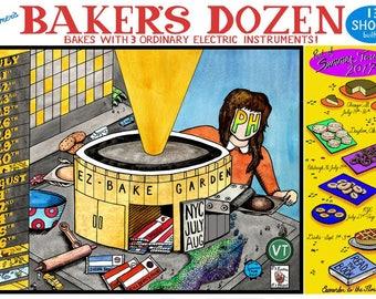 Phish Baker's Dozen poster