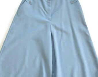 Baby Blue Gaucho Pants Bobbie Brooks  Union Made