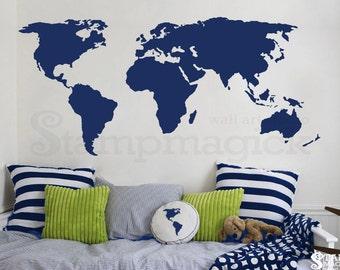 world map decal world map wall decal wall art chalkboard white chalk board dry erase