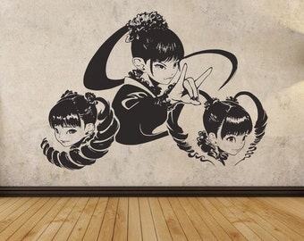 BabyMetal Design Decal Wall Sticker 83cm x 58cm