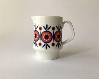 Vintage Porcelain milk jug ' 60