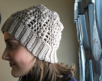 Puffy hat - crochet pattern