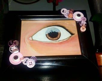Lover's eye city lovers ( eye art lovers eye )