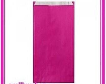 lot 10 pouches bags bags envelopes kraft 7 x 12 hot pink