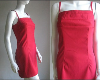 80s vintage bodycom dress