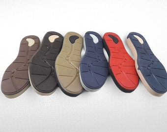 Men Soles - Rubber soles for felted and leather men boots - Soles men footwear - Soles for felted boots