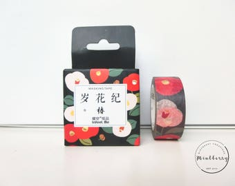 Washi Tape Poppy Print