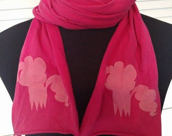 MLP Knit Screen Printed Scarves
