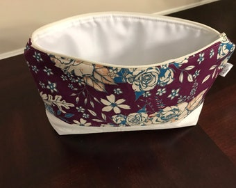 Summer Floral Print Project Bag