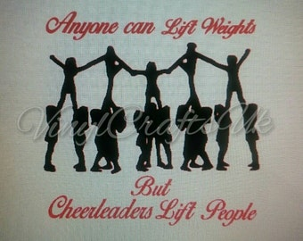 Cheerleader Pyramid Quote