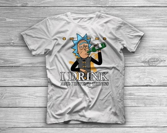 I Drink and I Invent Things Shirt