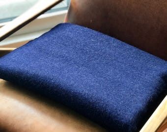 Alpaca Blanket (NAVY BLUE )
