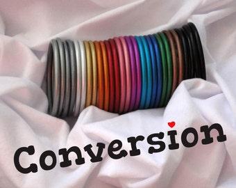 Wrap conversion service