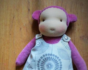 "custom doll * handmade bear * 8"" waldorf * little Kra"