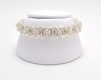 Helm Bracelet in Sterling Silver