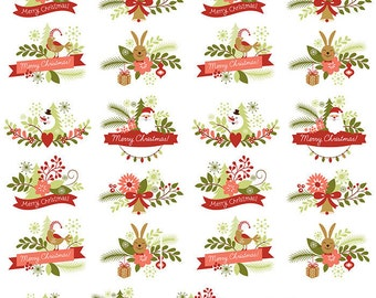 Ye Ole Vintage Christmas - Ceramic Decals- Enamel Decal - Fusible Decal - Glass Fusing Decal ~ Waterslide Decal - 33889