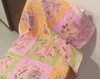 Picture Frame Crib Quilt