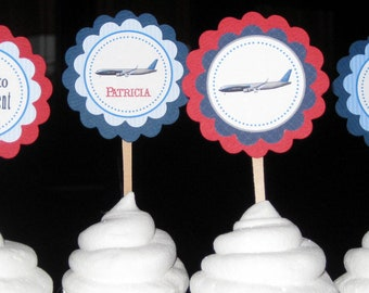 Retirement is Sweet Cupcake Toppers