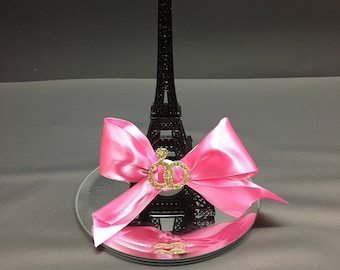 6 Eiffel Tower Wedding/Bridal Shower Centerpiece