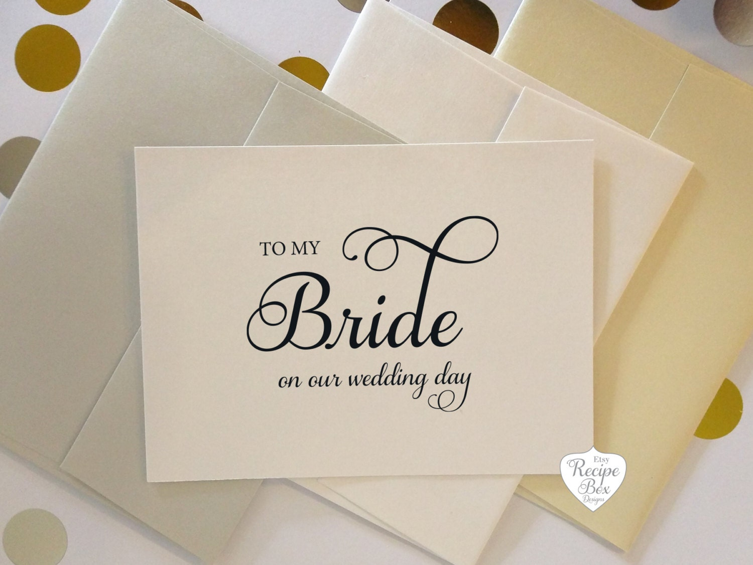 To my bride on our wedding day to my groom wedding card greeting to my bride on our wedding day to my groom wedding card greeting card wedding day card to my bride card groom card set of 2 cards m4hsunfo