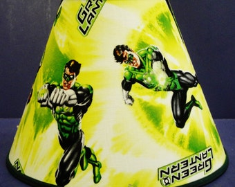 Green Lantern Marvel Lamp Shade