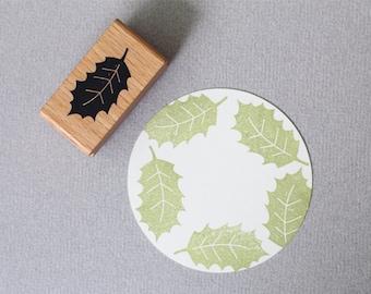 Stamp Holly Leaf