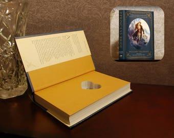 Hollow Book Safe Ring Bearer - The Princess Bride - Secret Book Safe
