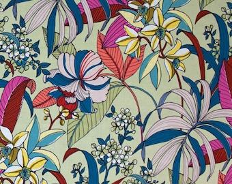Alexander Henry -Floriana-8588D - Tea Dye