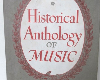 Historical Anthology of Music Oriental, Medieval and Renaissance