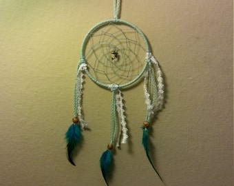 Not for sale!! Example of special order, dolphin dream catcher. Please message me for your custom dream catcher
