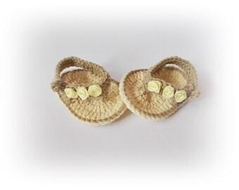 Crochet flip flops, Baby Flip Flops, Baby Sandals, Gtay shampange sandals, Crochet Baby Flip Flops, Summer Baby Shoes, Crochet Baby Sandles