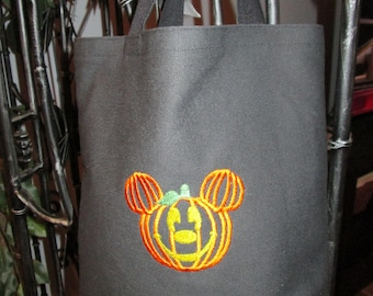 Halloween Special Mickey inspired Trick or Treat bag.