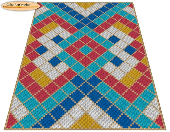 C2c crochet blanket or rug pattern geometric crochet graph c2c crochet blanket or rug pattern geometric crochet graph pattern from celsoartcrochet on etsy studio dt1010fo