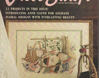 For the Love of Cross Stitch Magazine -- Premier Issue -- Volume 1, Number 1
