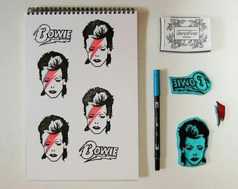 Bowie stamp sello Bowie