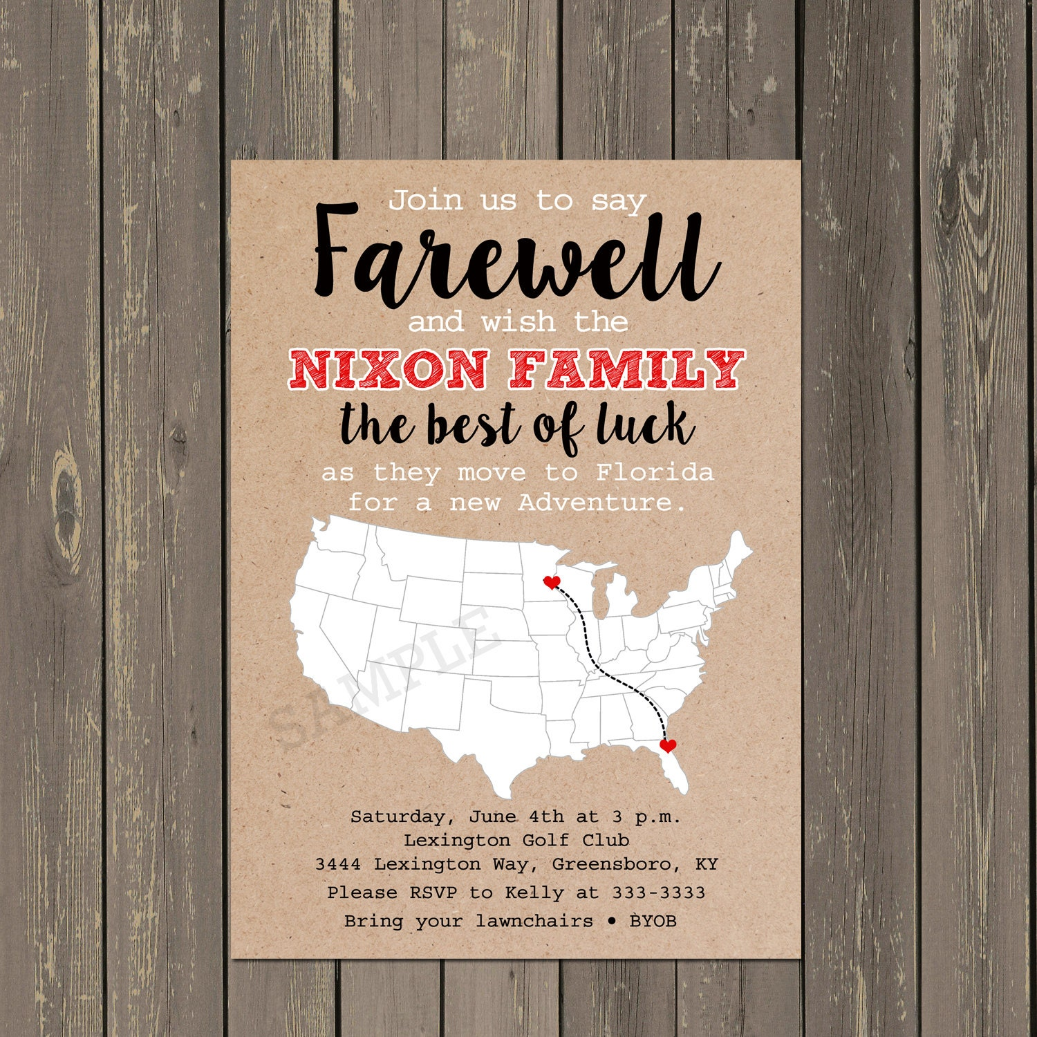 going away party invitation farewell party invite moving