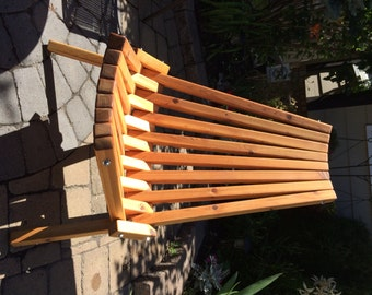 Wooden Folding Deck/Patio Chair - finished