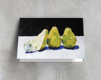 Greeting Card - Sweet Pears