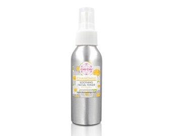 Chamomile Honey Soothing Face Toner, Hydrating Face Mist, Sensitve SkinToner. Calming Facial Toner, Alcohol Free