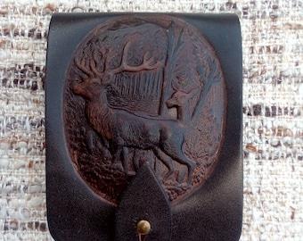 Genuine Leather Cartridge Holder cal.9.3-74