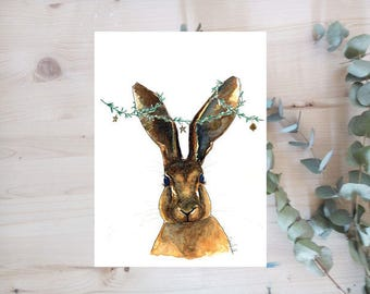 Poster - Rabbit - animals series - Limited Edition