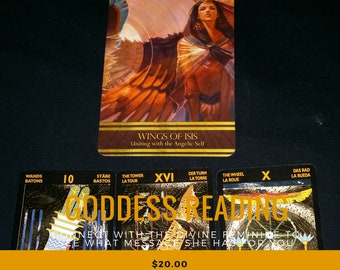 Divine Goddess Tarot & Oracle Card Reading