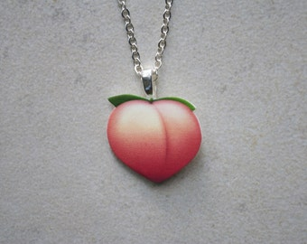 Peach Necklace/Pendant/Choker