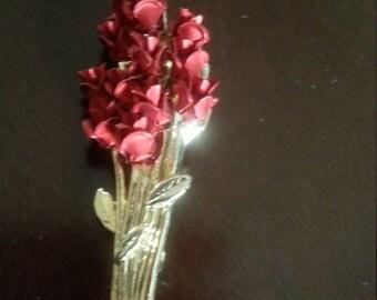 small roses pin.