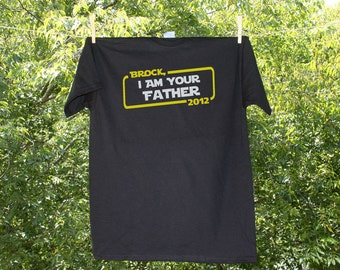 Luke, I Am Your Father Personalized Shirt with Child's name and Year