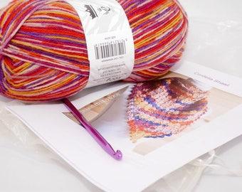 Cordelia Shawl Crochet Kit
