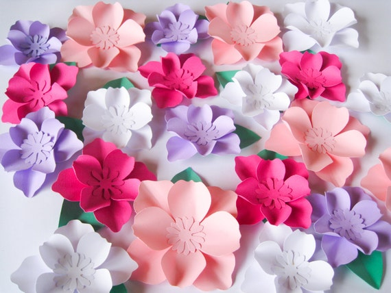 25 paper flowers small paper flowers wedding arch large mightylinksfo