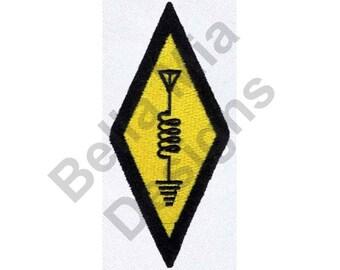 Symbol - Machine Embroidery Design, Ham Radio Symbol