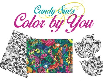 Candy Sue's Color By You  - The First Edition!