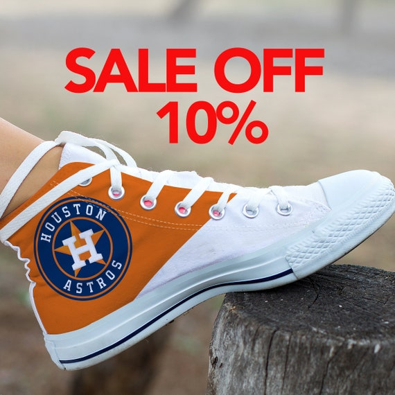 Houston Baseball Astros MLB Astros Custom Astros Converse Houston Custom Astros Custom Shoes Sneaker Houston Astros Shoes SVG Houston w1In701Axq
